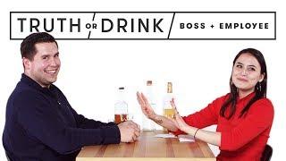 Video My Boss & I Play Truth or Drink   Truth or Drink   Cut MP3, 3GP, MP4, WEBM, AVI, FLV Maret 2019