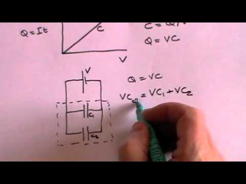 Capacitors - Continuing the A Level revision series looking at Capacitors. Includes capacitance, how a capacitor works, the energy stored in a capacitor and the time for ...