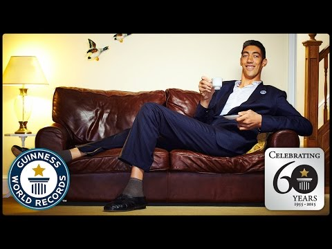 Tallest Man - Guinness World Records 60th Anniversary