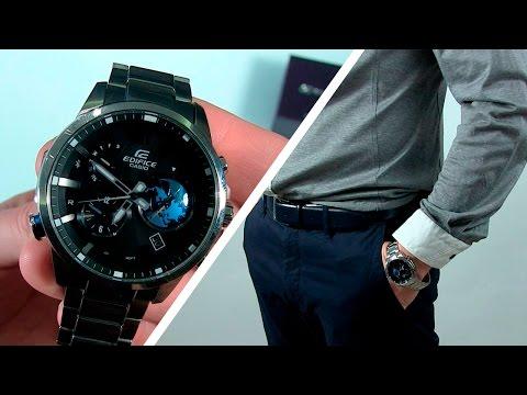 ЧАСЫ CASIO EDIFICE EQB-600D, Обзор, Распаковка | Мужские часы | Касио Эдифайс (видео)