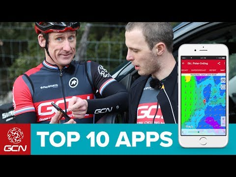 GCN's Top 10 Cycling Apps (видео)