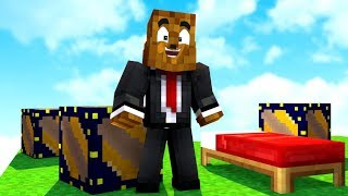 *NEW* Galactic Lucky Block Bed Wars W/ Bajan Canadian - Minecraft Modded Minigame | JeromeASF