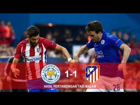 HIGHLIGHTS | ALL GOALS | LEICESTER CITY VS ATLETICO MADRID | 19/04/2017 HD