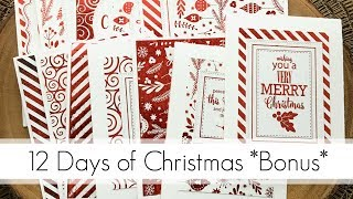 Video 25 DIY Christmas Cards in an Hour? Yes Please! MP3, 3GP, MP4, WEBM, AVI, FLV Juli 2019