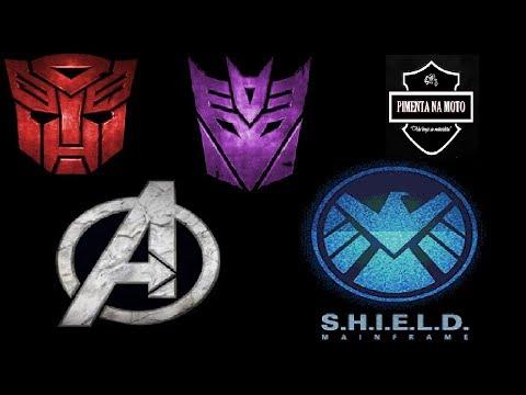 Zap zap - Transformers OU Vingadores OU Shield Vingadores. Qual Ficara Melhor? Por Favor Me Ajudem a Escolher!