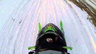 4. Arctic Cat F5 sno pro ride 2/6/16