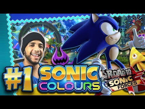 Sonic Colors 4K 60FPS (100%) - Part 1 - Tropical Resort *THE ROAD TO SONIC FORCES*