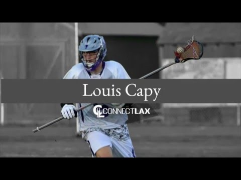 Louis Capy Lacrosse Highlights | VT 2017 | Def