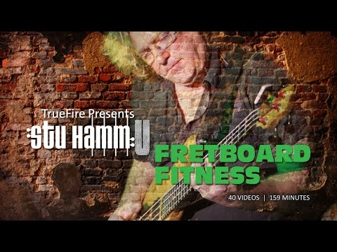 Bass Guitar Lessons – Fretboard Fitness – #1 Introduction – Stu Hamm