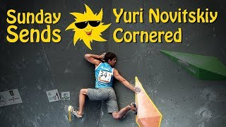 Yuri Novitskiy, Cornered | Sunday Sends by OnBouldering
