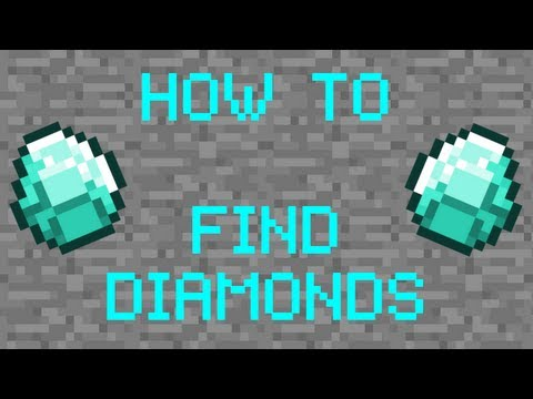 Minecraft Tutorial - Best Method to Finding Diamonds (XBox, PC, Mobile)