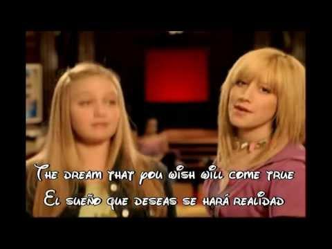 A Dream Is A Wish Your Heart Makes (en español) - Zack y Cody