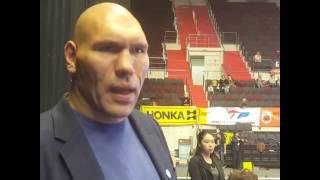 Николай Валуев о Фестивале боевых искусств Кубок Балтийского моря 2016