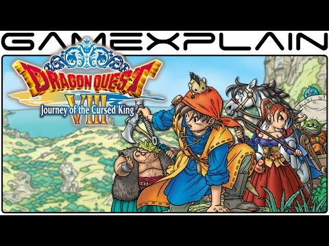 1 Hour Of Dragon Quest VIII Gameplay (3DS - Livestream Archive)