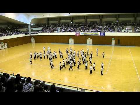 京都市立 伏見中学校 吹奏楽部 @【金代表】第28回 京都府 マーチングコンテスト Scene1