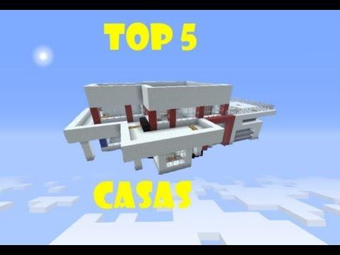 Minecraft ☆ TOP 5 CASAS ☆