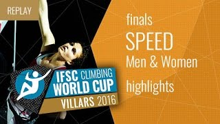 IFSC Climbing World Cup Villars Highlight Speed Finals by International Federation of Sport Climbing