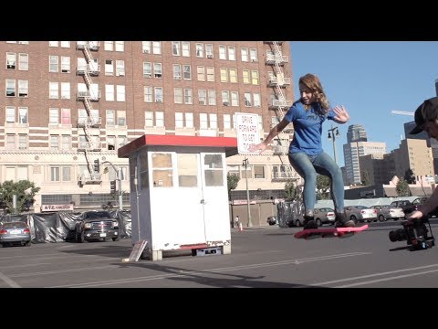 Fake Hoverboard Commercial