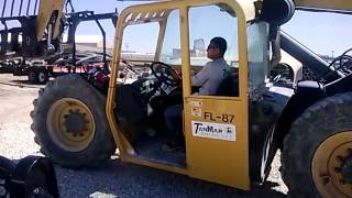 low low forklift
