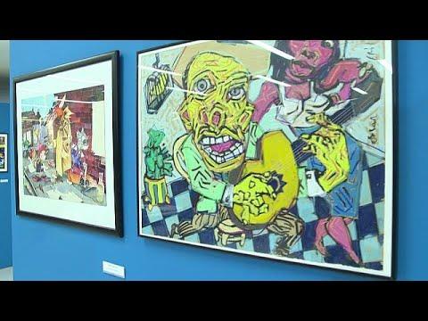 العرب اليوم - معرض دولي للرسوم الساخرة في البرتغالي