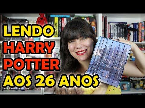 Minha experiência lendo Harry Potter
