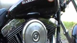 8. walkaround 1993 harley davidson wideglide