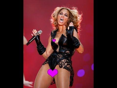 UH oH! BEYONCE has MAJOR WARDROBE MALFUNCTION (Super Bowl Halftime Show 2013)