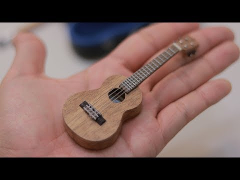 Making a miniature ukulele [2:18]