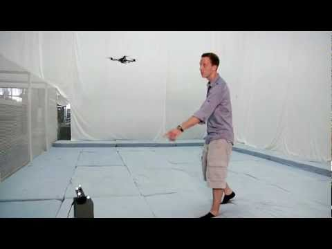 Kinect Wizards Create Gesture Control System For Quadrotor Drone