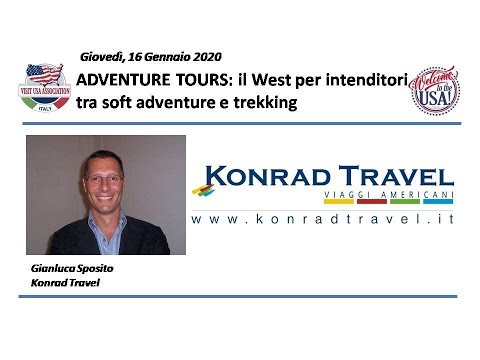 Video ADVENTURE TOURS: il West per intenditori tra soft adventure e trekking (16-1-2020)