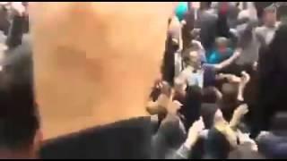 اعتراض و تجمع مردم شریف مشهد برای جلوگیری از تجاوز عرب ها به دختران ایرانی