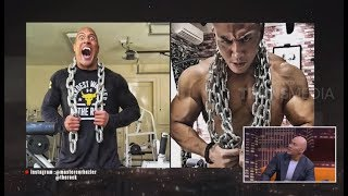 "Video Cerita Deddy Ketemu  Dwayne ""THE ROCK"" Johnson 
