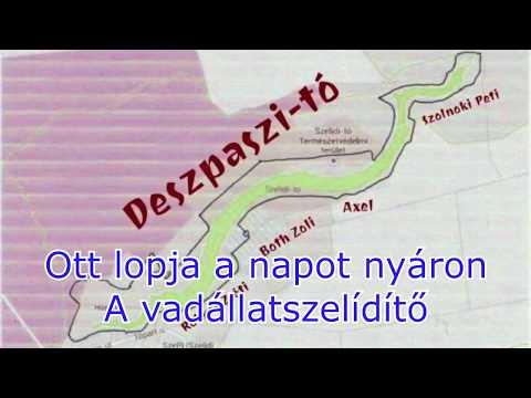 Szelidí-tó Despacito paródia Lyrics