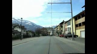 Bex Switzerland  city photos gallery : Switzerland 63 (Camera on board) Bex (VD) [HD]