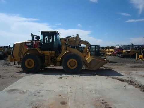 CATERPILLAR CARGADORES DE RUEDAS 966K equipment video A58qWcG6TFw
