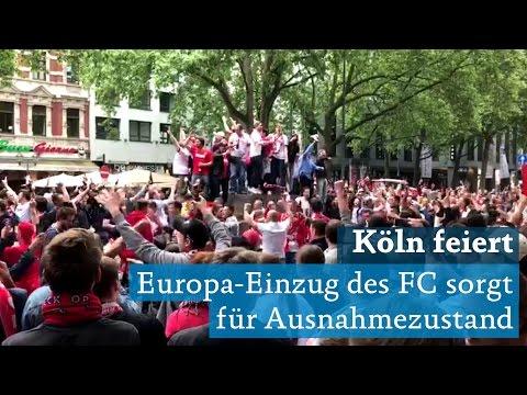 1. FC Köln schafft Europa League: Ausnahmezustand in In ...