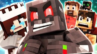 Minecraft Skywars: The Evil Threat! (Funny Moments)