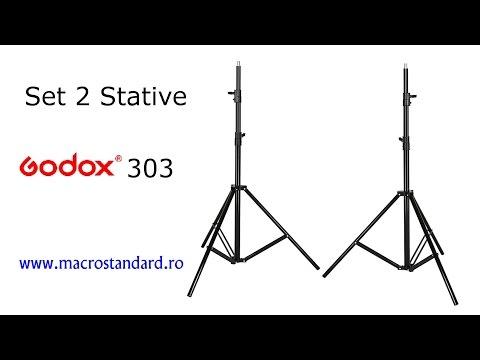 Prezentare Set Stative Godox 303