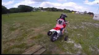 7. 2013 honda crf50 2015 crf 50 My kids ride and crash on Easter Sunday at my parents house
