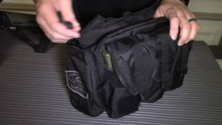 We give you a look at the SOG Responder range bag.  This is a small inexpensive range bag to carry your gear wherever you go.