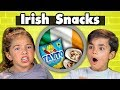 KIDS EAT IRISH SNACKS | Kids Vs Food