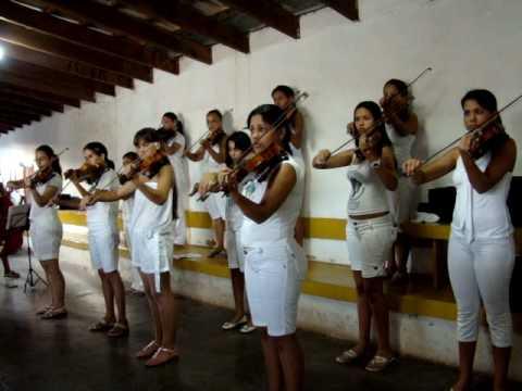 Ensaio dos Violinos em Cuiabá (MT)