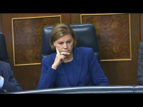 Sesión de control al gobierno. Pregunta a la Ministra de Defensa