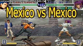UnPanalDeAvispas (Mexico) vs MORRISKI (Mexico) FightCade Kof 2002 Online 拳皇2002 the king of fighters 2002