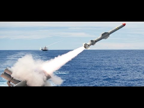 Harpoon Live Missile Test : Pakistan Navy [HD]