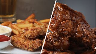 How to Make Crispy Fried Chicken Recipes • Tasty