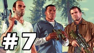 Grand Theft Auto 5 Gameplay Walkthrough Part 7 - GTA 5