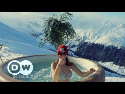 Wintersport rund um Davos | DW Deutsch