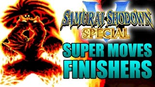 Video Samurai Shodown V 5 Special All Super Hyper Moves Finishers Forfeits Finishing Fatality Fatalities MP3, 3GP, MP4, WEBM, AVI, FLV Mei 2019