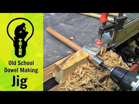 Video Old School Dowel Making Jig download in MP3, 3GP, MP4, WEBM, AVI, FLV January 2017